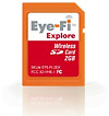 Eye-Fi Explore SD-Karte Geotagging