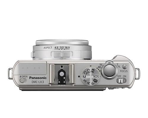 Panasonic Lumix DMC-LX3 silver