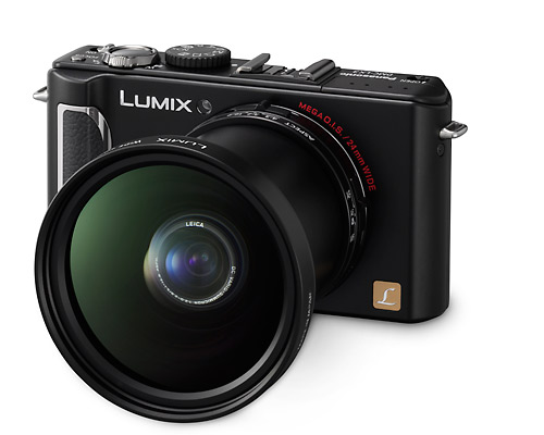 Panasonic Lumix DMC-LX3, Weitwinkel-Konverter