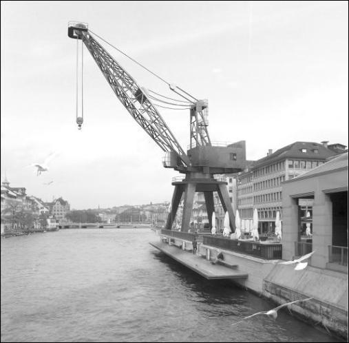 Hafenkran Limmat