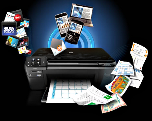 how to use hp eprint