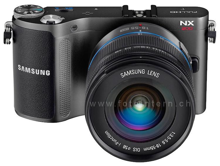 Samsung NX200 mit neuem 20 Megapixel CMOS-Sensor ...