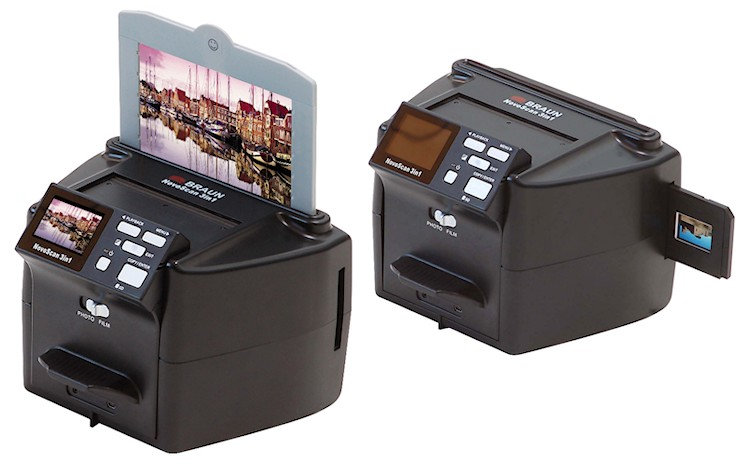Braun Novoscan 3 In 1 Multiformat Scanner Mit Lcd Display