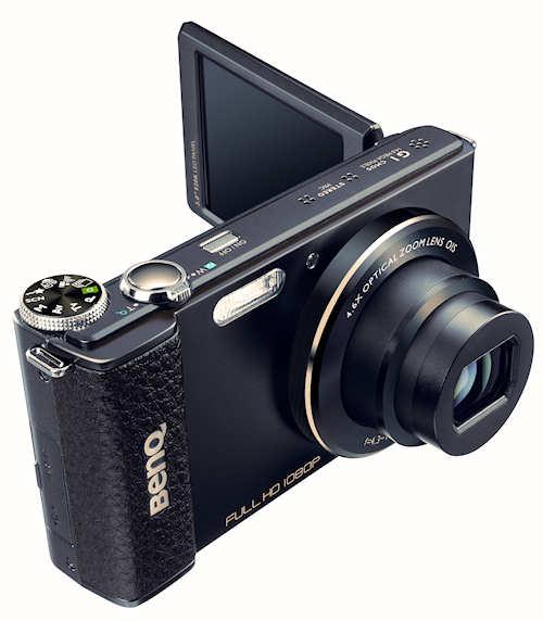 benq g1 d nnste digitalkamera mit lichtst rke 1 1 8 und schwenk display. Black Bedroom Furniture Sets. Home Design Ideas