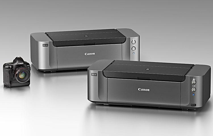 Canon Pixma Pro-100 und Pro-10: Zwei Drucker mit WLAN für Formate ...