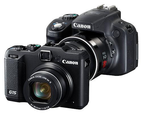 Canon Powershot G15 Und Sx50 Hs Topmodelle Von Canons Kompaktklasse