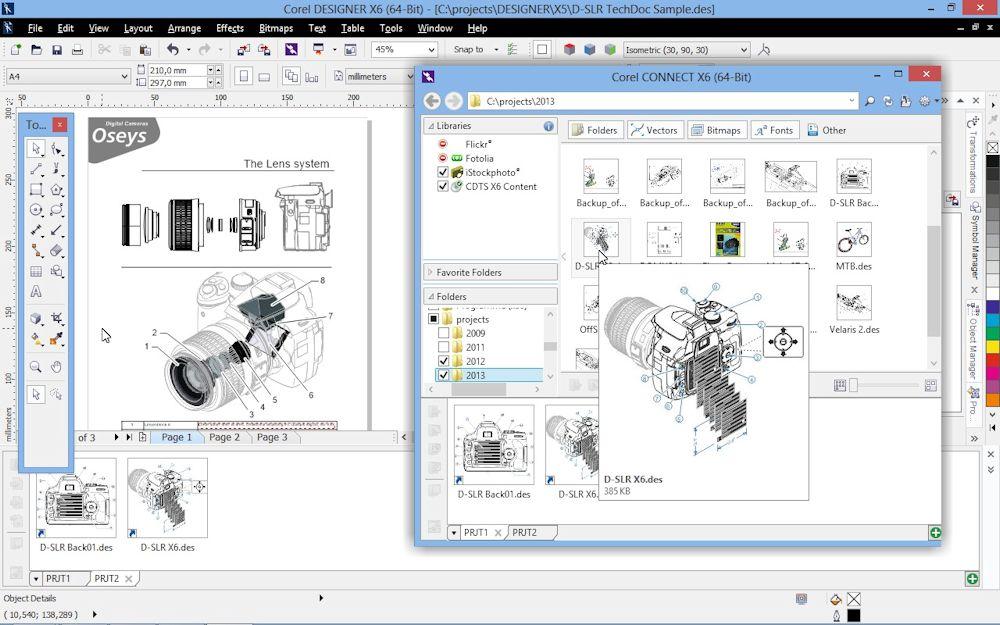 CorelDraw Technical Suite X6 als Komplettlösung für die visuelle ...