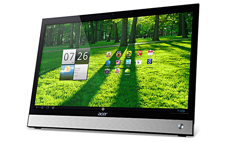 intelligenter touchscreen bildschirm mit tablet funktion tagesaktuelle fotonews. Black Bedroom Furniture Sets. Home Design Ideas