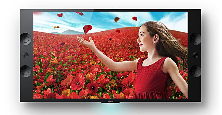 zwei neue 4k fernseher von sony ab juni 2013 f r videos und dia shows. Black Bedroom Furniture Sets. Home Design Ideas