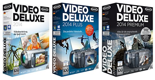 Magix Video deluxe 2014 Varianten