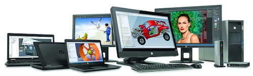 HP Z-Workstations Family