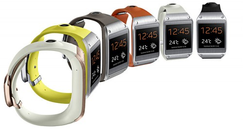 Samsung Galaxy Gear Farbvarianten