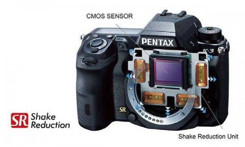 Pentax K-3 ShakeReduction