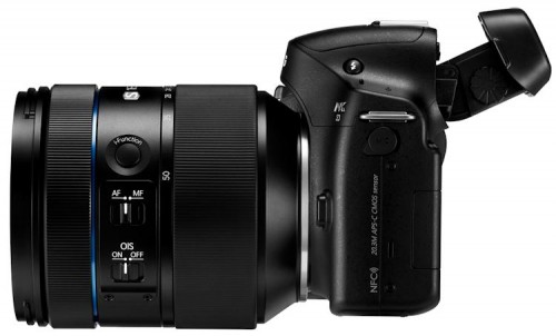 Samsung NX30 and 16-50mm