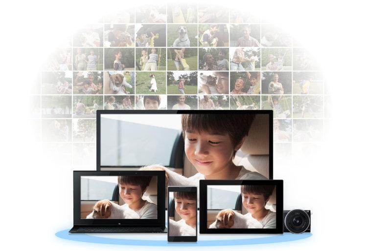 fotos und videos teilen sony play memories online gestartet tagesaktuelle. Black Bedroom Furniture Sets. Home Design Ideas