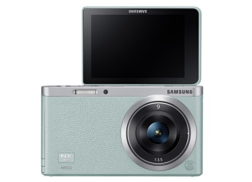 Samsung NX mini mint green