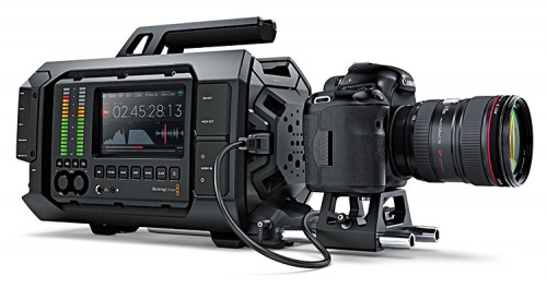 Blackmagic URSA HDMI mit DSLR