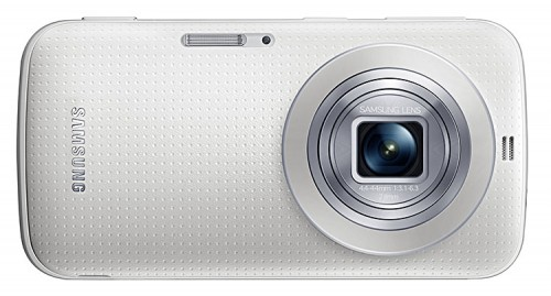 Samsung Galaxy K zoom white lens open