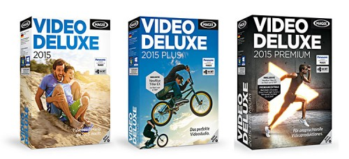 Magix Video deluxe 2015 Boxen