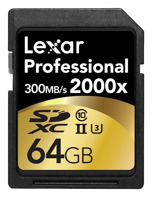 schnellste sd karte Lexar stellt die schnellste SD UHS II Karte vor   fotointern.ch