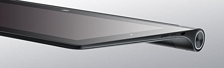 Yoga 2 für tablet-fans und ein integrierter beamer im pro-modell von