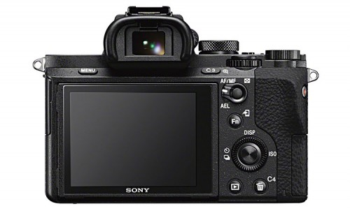 Sony A7II hintere Ansicht