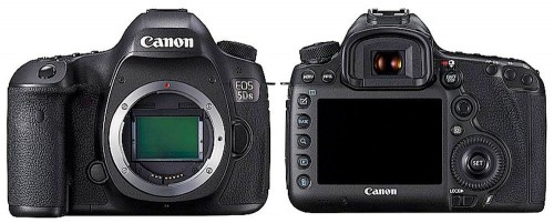 Canon EOS 5Ds Front Back