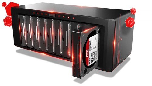 WD RedPro NAS-Bay