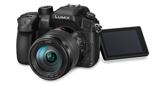 Panasonic Lumix GH4R mit V-Log LCD