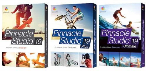Pinnacle Studio19 Boxen