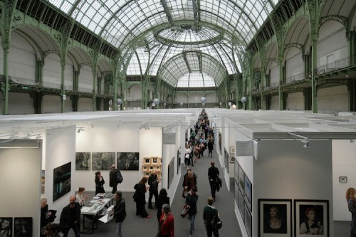 Paris Photo 2015 Gran Palais innen
