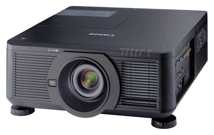 Canon pr sentiert f nf neue projektoren for Lampen 500 lux