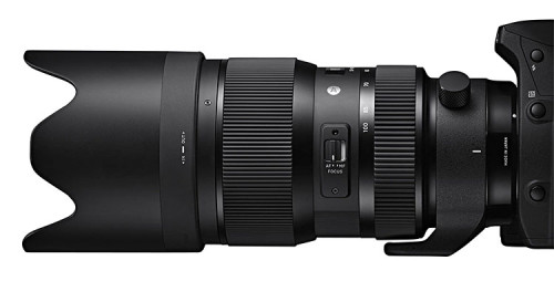 Sigma 50-100mm F18 DC HSM Art Design4