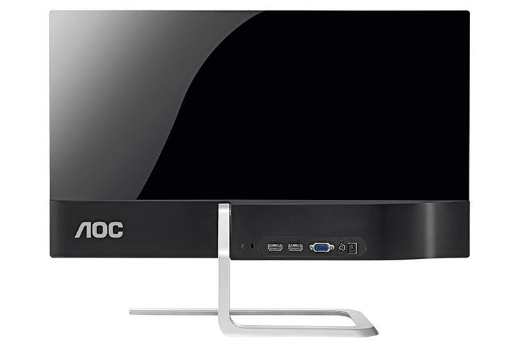 zwei stylische full hd monitore von aoc ein 21 und ein. Black Bedroom Furniture Sets. Home Design Ideas