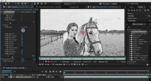 Neues plugin akvis sketch video classic 1 0 wandelt videos for Classic story adobe