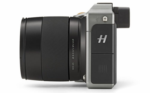 Hasselblad X1D Side View
