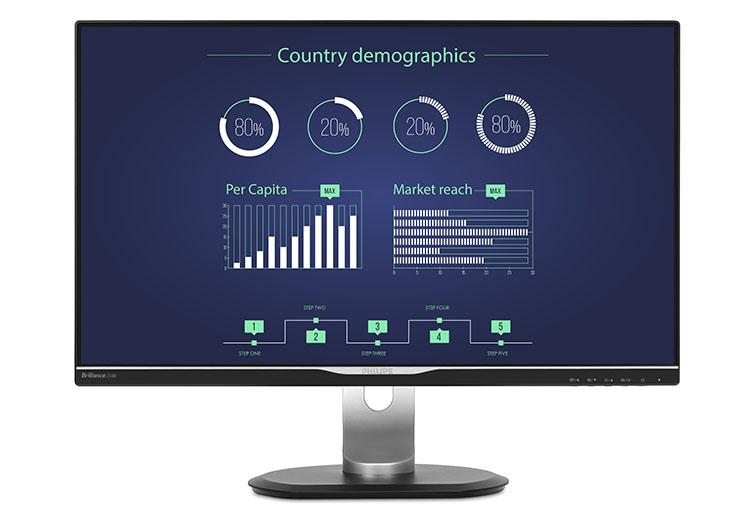 25 zoll monitor mit usb c dockingstation f rs b ro. Black Bedroom Furniture Sets. Home Design Ideas