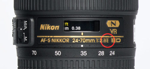 Nikkor 24-70mm E Label 2016-0709-E01-02p