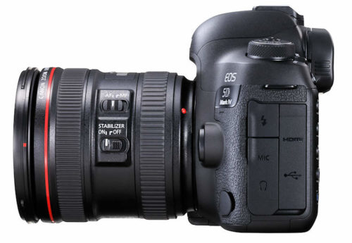 Canon EOS 5D Mk IV Side 750
