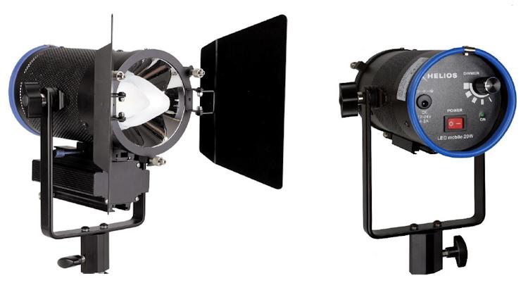 Helios led mobile 20w set praktische akkuleuchte f r foto und video - Praktische mobel ...