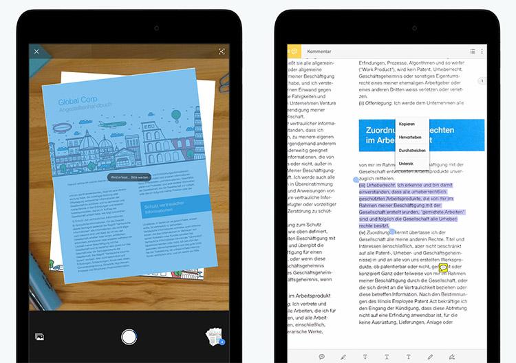 Adobe Scan Erkennt Dokumente Und Texte In Fotos Und