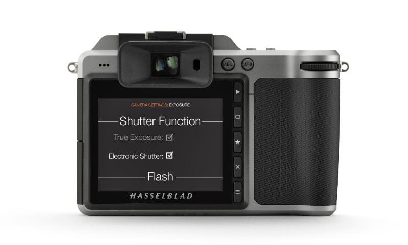Hasselblad X1D-50c Menue E-Shutter