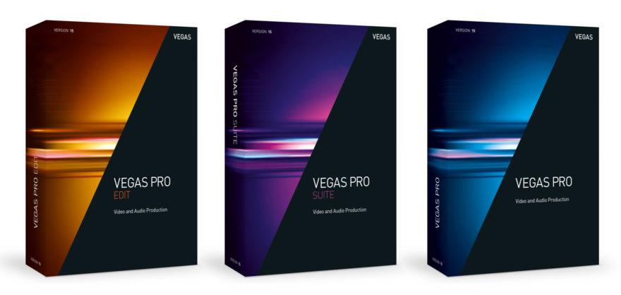 Magix Vegas Pro 15 alle 3 Varianten