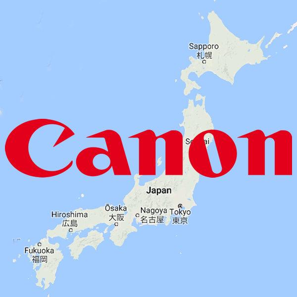 Canon japan lead