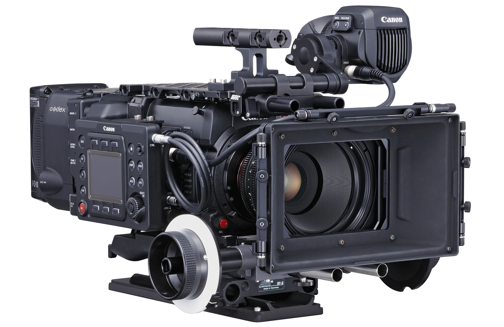 Canon Cinema EOS C700 FF: Cine-Kamera mit KB-Vollformatsensor ...