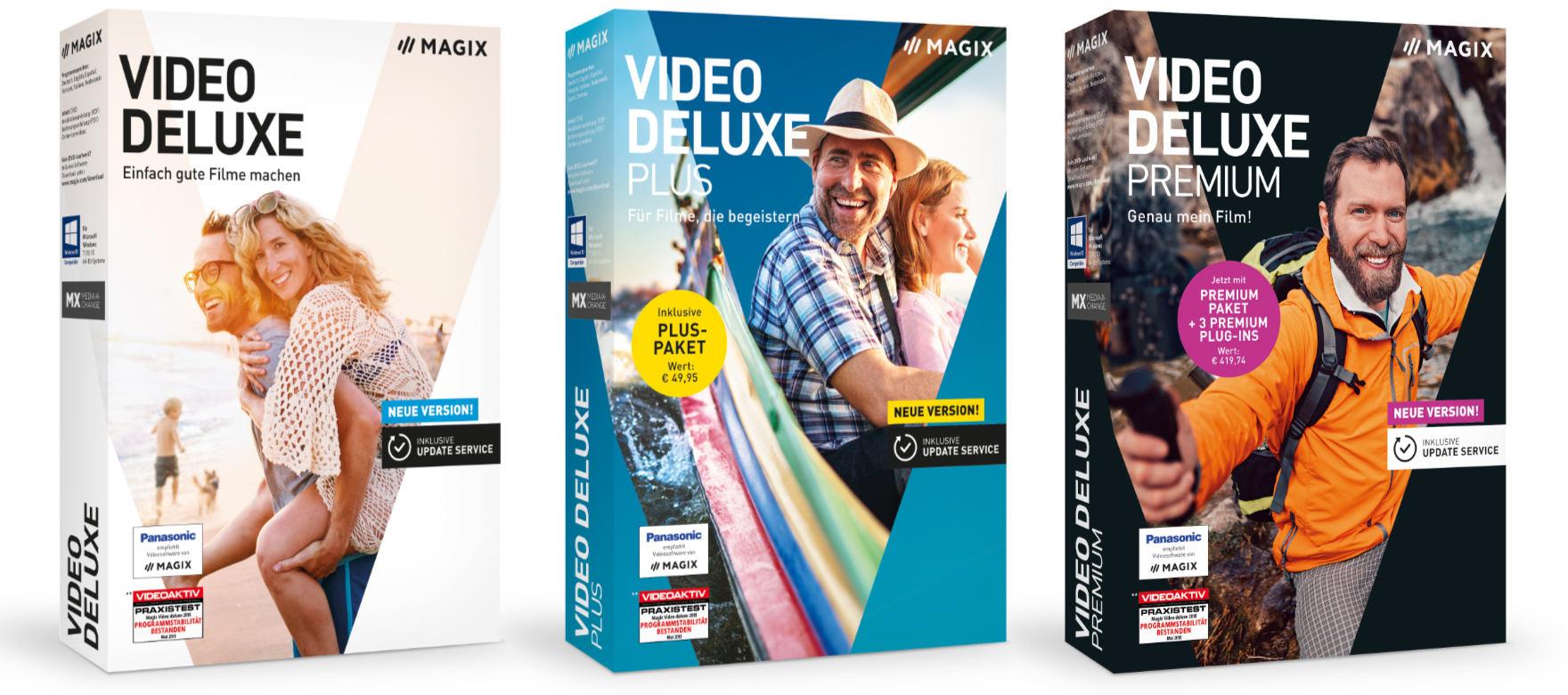 Magix Video deluxe 2019: Videoschnitt noch schneller und einfacher
