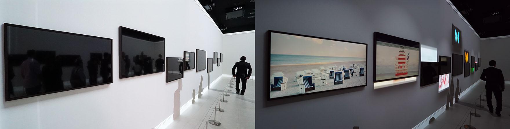 samsung the frame 2 0 tv und digitaler bilderrahmen samt poster shop. Black Bedroom Furniture Sets. Home Design Ideas
