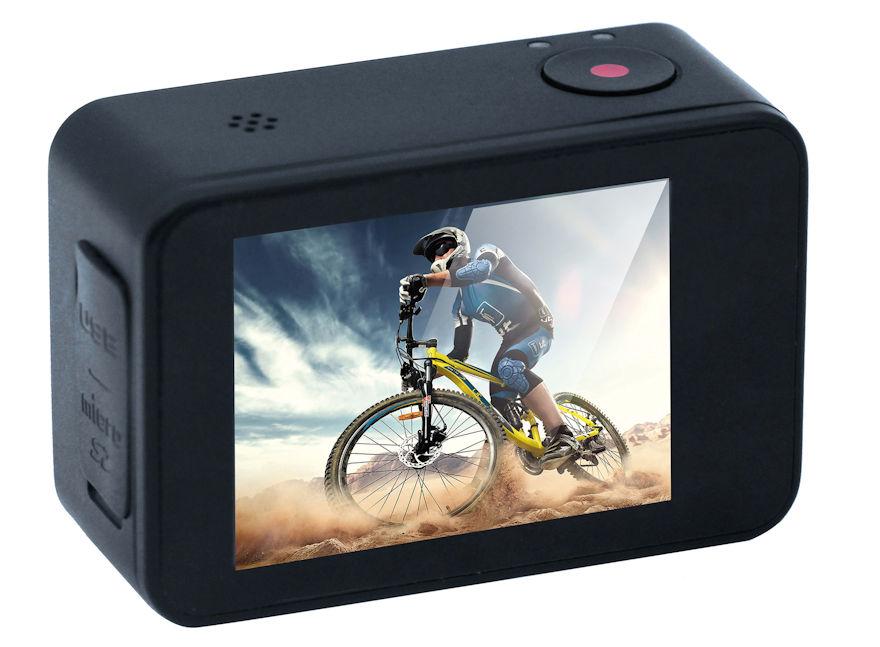 action cam goxtreme axis mit gimbal bildstabilisator. Black Bedroom Furniture Sets. Home Design Ideas