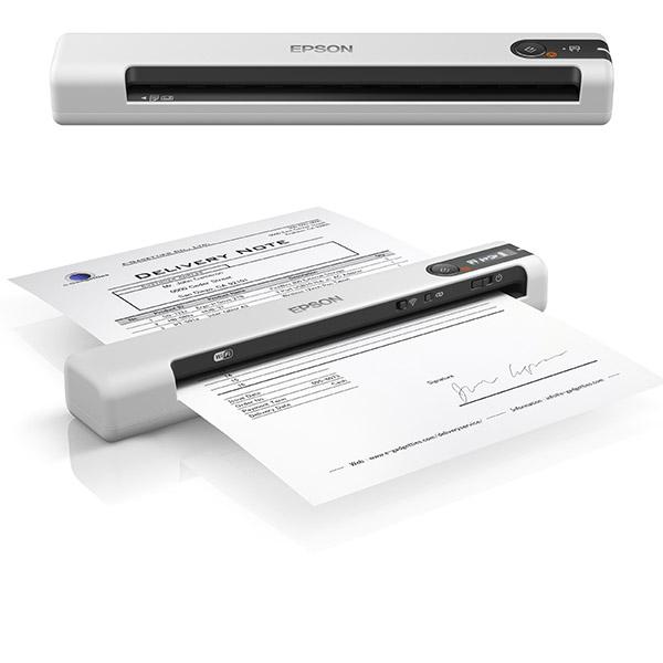 Epson Workforce Ds 70 Und Ds 80w Kleine Mobile Scanner