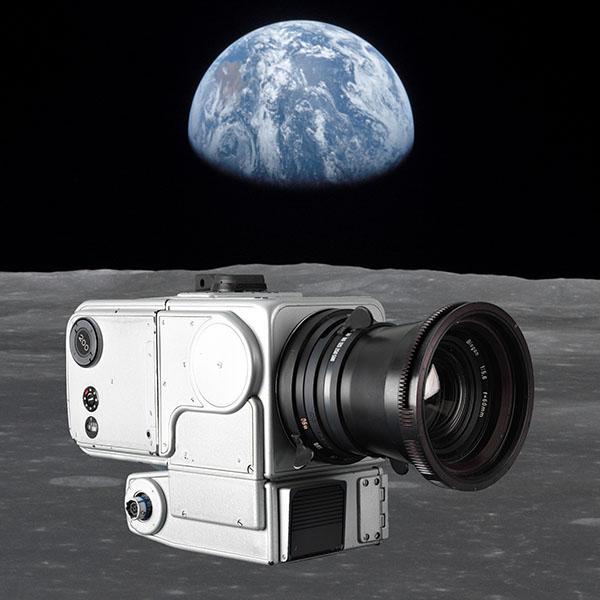 Hasselblad feiert 50 Jahre auf dem Mond